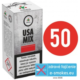 e-liquid Dekang Fifty USA MIX 10ml - 18mg