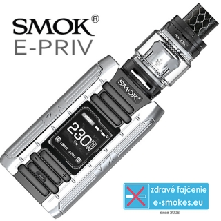 Smoktech full kit E-PRIV - black silver