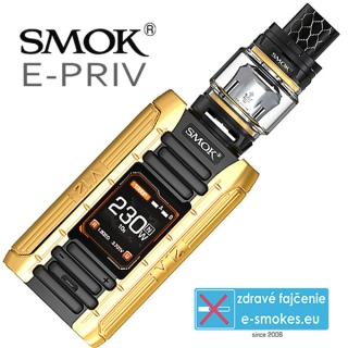 Smoktech full kit E-PRIV - black gold
