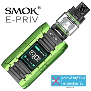 Smoktech full kit E-PRIV - black green