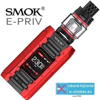 Smoktech full kit E-PRIV - black red