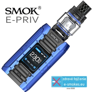 Smoktech full kit E-PRIV - black Blue