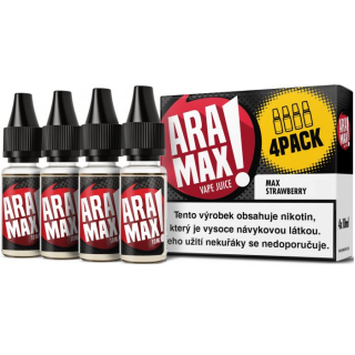 ARAMAX 4Pack Max Watermelon 4x10ml 12mg