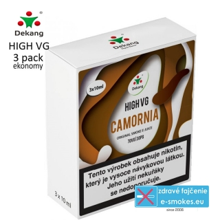 Dekang High VG 3Pack Camornia 3x10ml 0mg