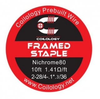 Coilology Framed Staple Ni80 28/36 - 3m