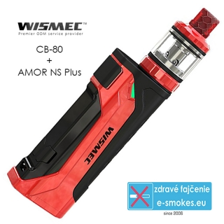 Wismec full kit CB-80 s AMOR Pro - Red