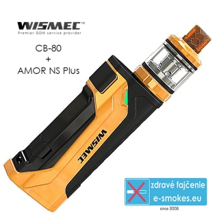 Wismec full kit CB-80 s AMOR Pro - Yellow