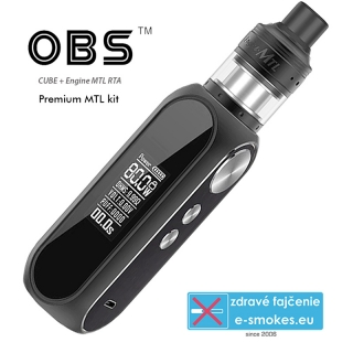 OBS full kit CUBE 80W s Engine MTL 3000mAh - Black