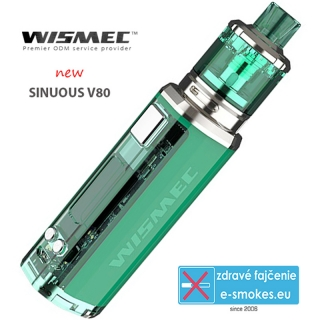 Wismec full kit Sinuous V80 - green