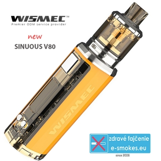 Wismec full kit Sinuous V80 - Yellow