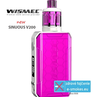 Wismec full kit Sinuous V200 - Magenta