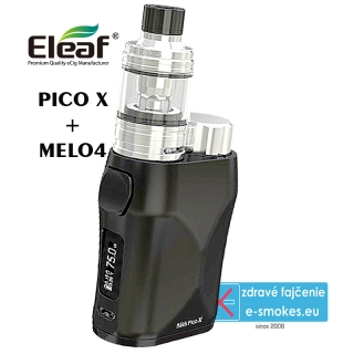 Eleaf full kit iStick Pico X TC75W - čierna