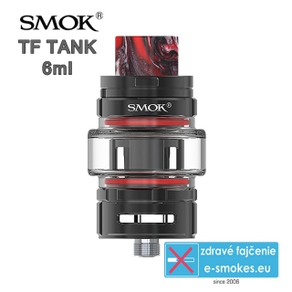 Smoktech TF TANK clearomizér 6,0ml - black