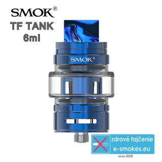 Smoktech TF TANK clearomizér 6,0ml - Blue
