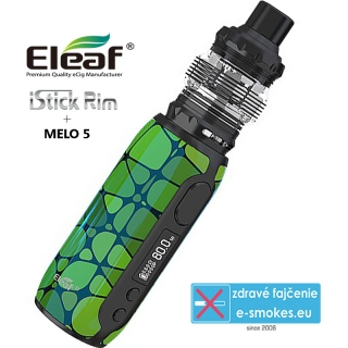 Eleaf iStick Rim Grip Full Kit 3000mAh E-Green