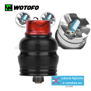 Wotofo clearomizér RDA Elder Dragon - black