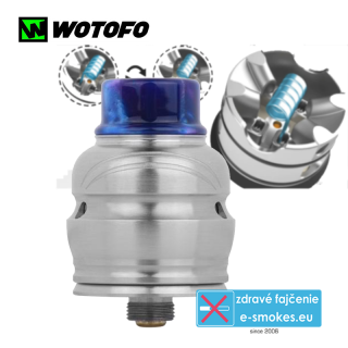 Wotofo clearomizér RDA Elder Dragon - stainless steel