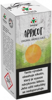 e-liquid Dekang APRICOT 10ml 6mg