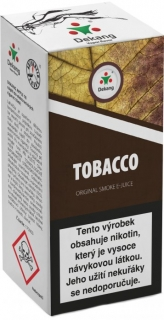 e-liquid Dekang Tobacco 10ml - 3mg (tabak)
