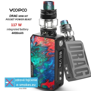 VOOPOO full kit DRAG mini 4400mAh - Coral