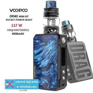 VOOPOO full kit DRAG mini 4400mAh - Prussian Blue