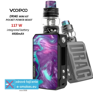 VOOPOO full kit DRAG mini 4400mAh - Purple