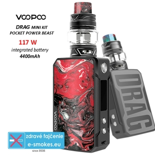 VOOPOO full kit DRAG mini 4400mAh - Rhodonite