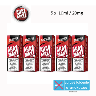 ARAMAX booster 5ks 10ml PG50-VG50 20mg