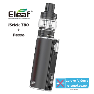 Eleaf full kit iStick T80 with Pesso - black