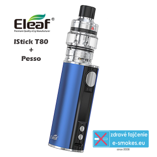 Eleaf full kit iStick T80 with Pesso - Blue