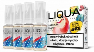 LIQUA Elements 4pack American Blend 4x10ml 12mg nikotínu