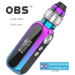 OBS full kit CUBE 80W 3000mAh - Rainbow