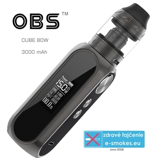 OBS full kit CUBE 80W 3000mAh - Black