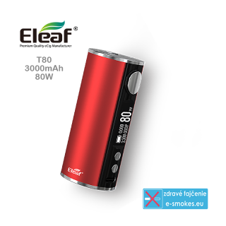 Eleaf mod grip iStick T80 3000mAh  - RED