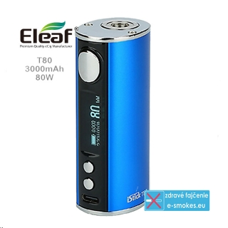 Eleaf mod grip iStick T80 3000mAh  - Blue