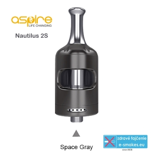 aSpire Nautilus 2S clearomizer 2.6 ml - Grey