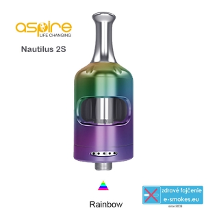 aSpire Nautilus 2S clearomizer 2.6 ml - Rainbow