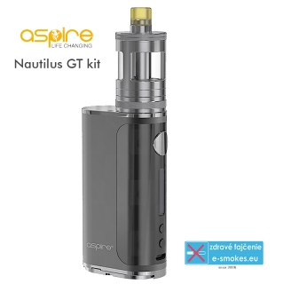 aSpire full kit Nautilus GT TC75W - Gunmetal