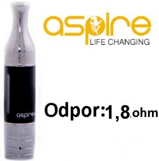aSpire ET-S Victory BDC clearomizer 3ml 1,8 ohm - Black