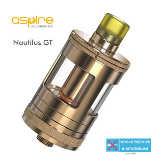 aSpire clearomizér Nautilus GT 3ml - Rose Gold