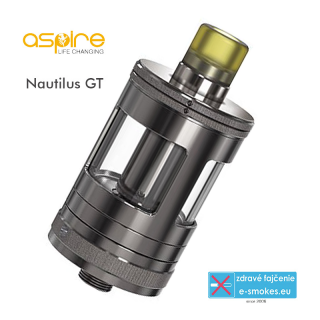 aSpire clearomizér Nautilus GT 3ml - Gun Metal