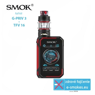 Smoktech full kit G-Priv 3 - black