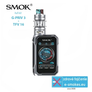 Smoktech full kit G-Priv 3 - Prism Chrome