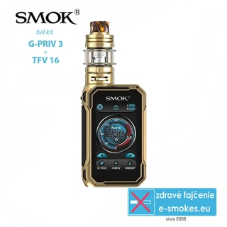 Smoktech full kit G-Priv 3 - Prism Gold