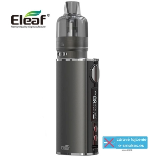 Eleaf full kit iStick T80 with GTL Pod Tank - Gunmetal