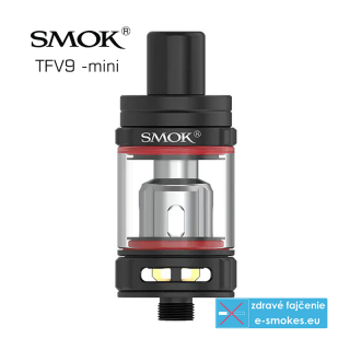 SmokTech TFV9 Mini clearomizer 3ml - Black