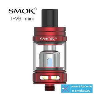 SmokTech TFV9 Mini clearomizer 3ml - Red