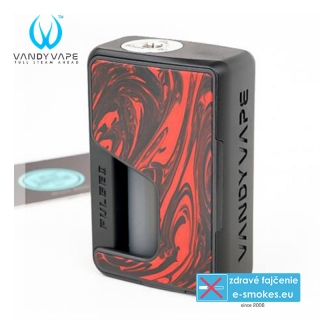 Vandy Vape Pulse V2 Box grip Resin Flame Red
