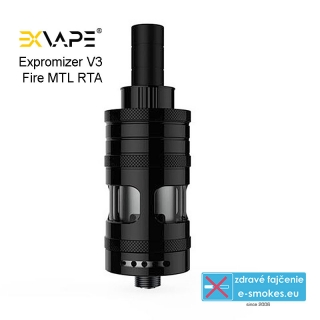 EXVAPE eXpromizer V3 Fire MTL RTA 2ml Black