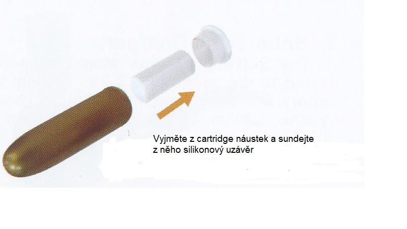 ako postupovať pri zavedení cartidge do elektronickej fajky Pipe 601
